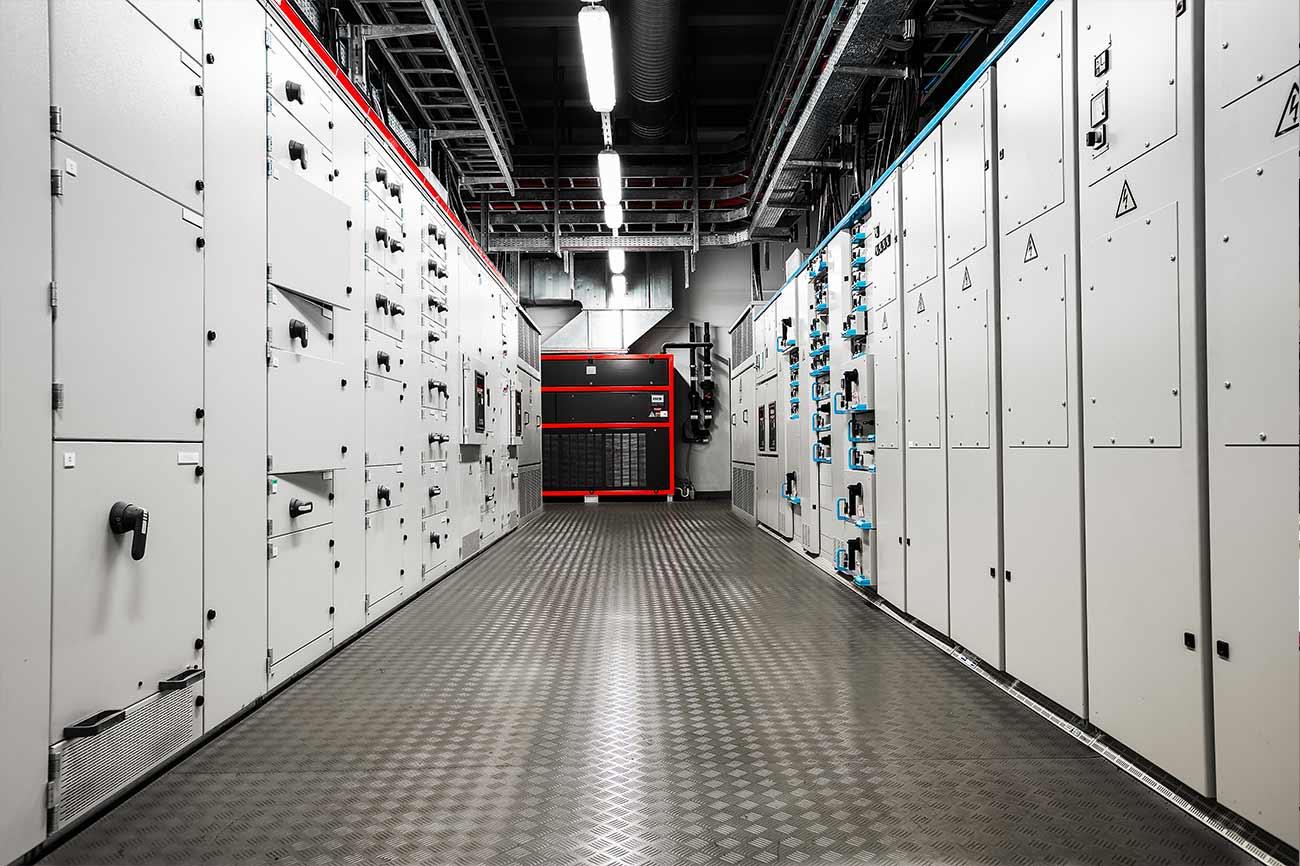 industrial system integrators electric amperage control room